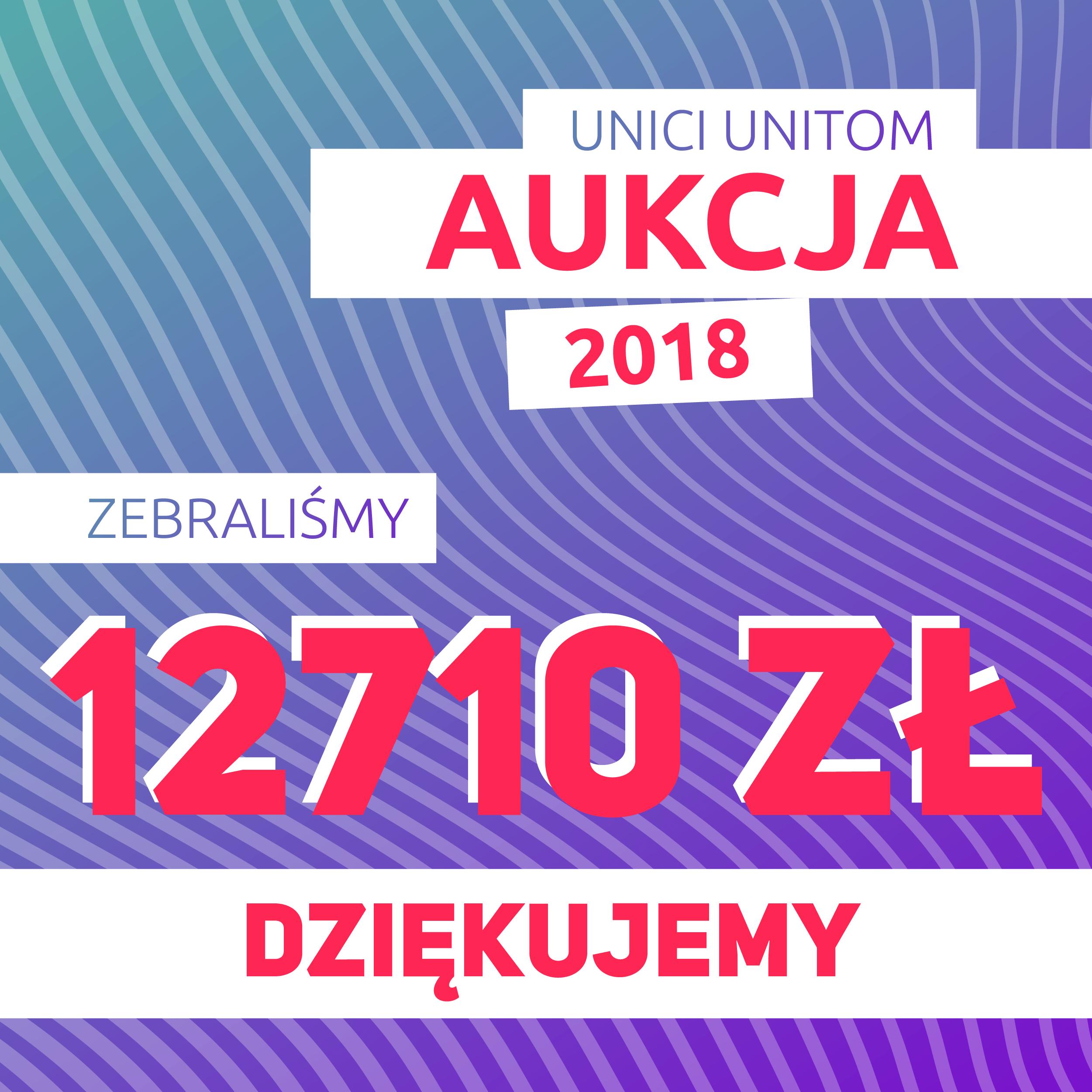Podsumowanie Aukcji Unici-Unitom 2018